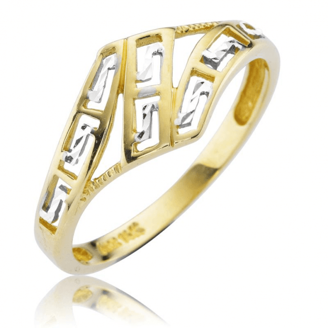 Shipton and Co Ladies Shipton and Co 9ct Yellow Gold Ring TAR638NS