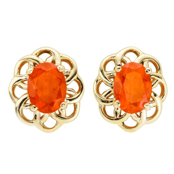 Ladies Shipton and Co 9ct Yellow Gold and Fire Opal  EYG061FO