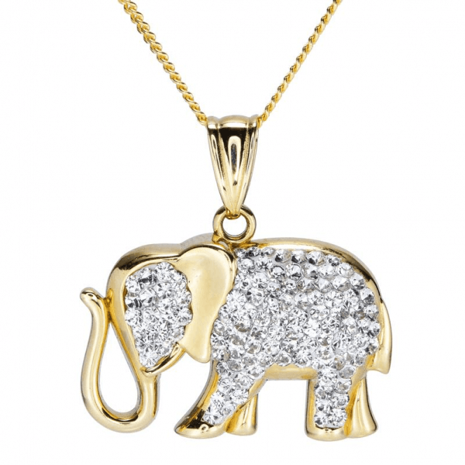 Shipton and Co Ladies Shipton and Co 9ct Yellow Gold and Cubic Zirconia Pendant including a 16 9ct Chain TAR635RC