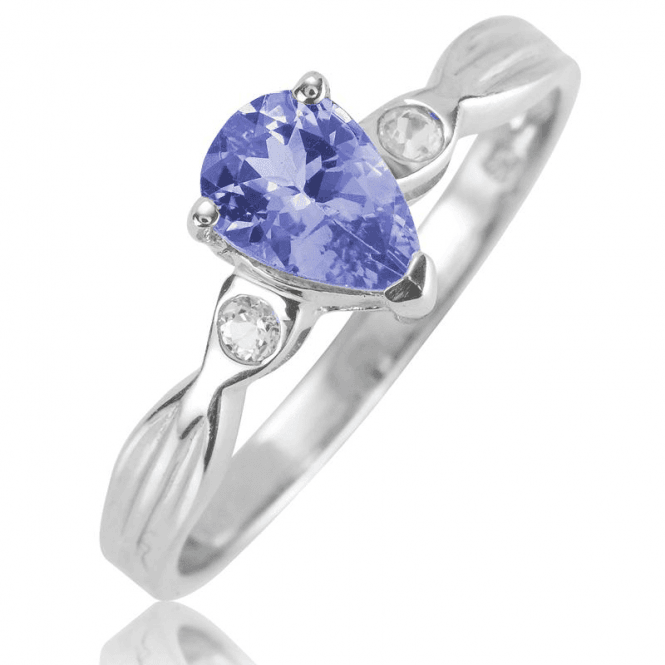 Modernist Radiance for 1ct of Tanzanite - Only £45