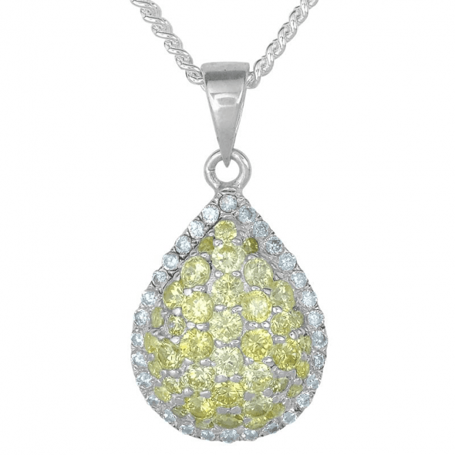 Intensely Sparkling Crystal Teardrop Only £30