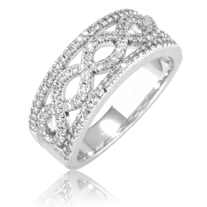 Eternal Symbolism in Sparkling Silver