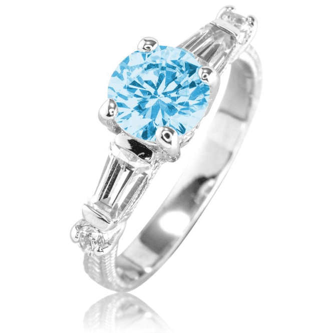 Imperial Design with a Blue Topaz Sparkle - Only £45