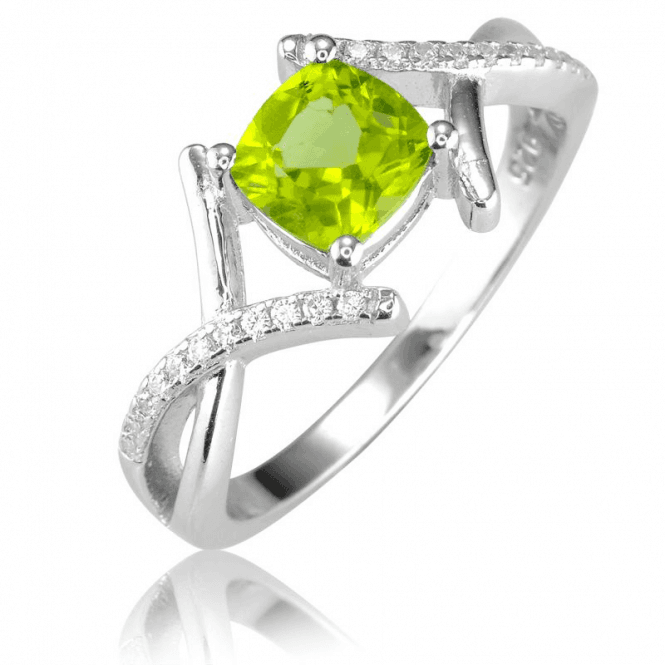 Sparkling Art Deco Symmetry for a 1ct Peridot