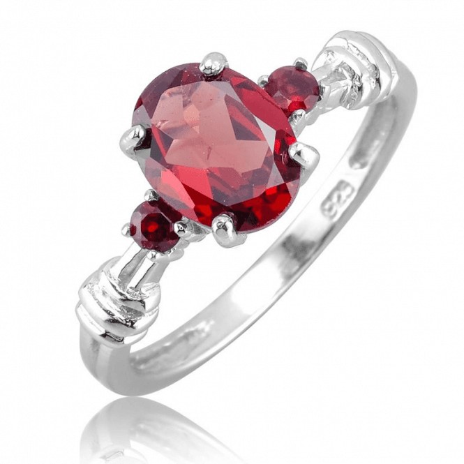 Perennial Elegance for 1¾ct of Classic Garnet