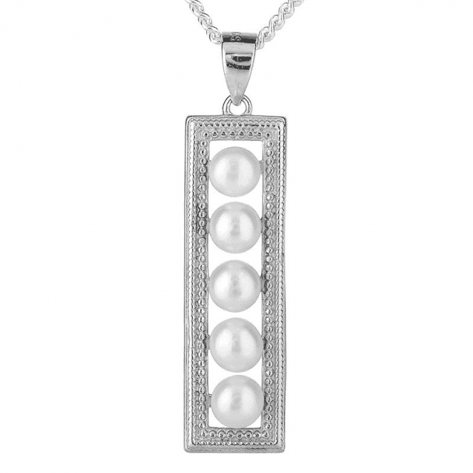 Silver Geometry for Lustrous Pearls