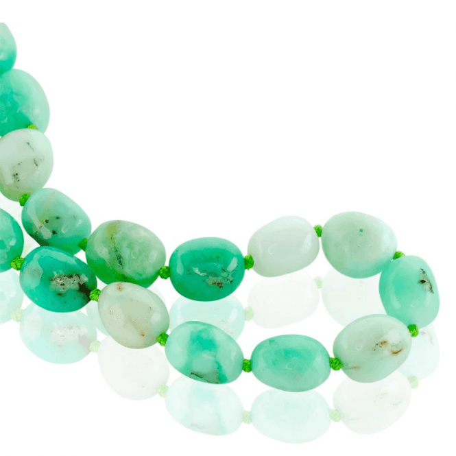 350 Carats of Chrysoprase