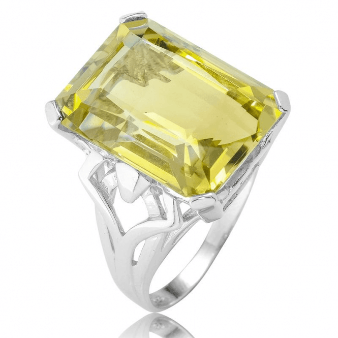 18cts of Octagonal Lemon Quartz for Only £97.50
