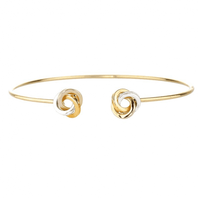 Tonal 9ct Gold Knots Remind you Always
