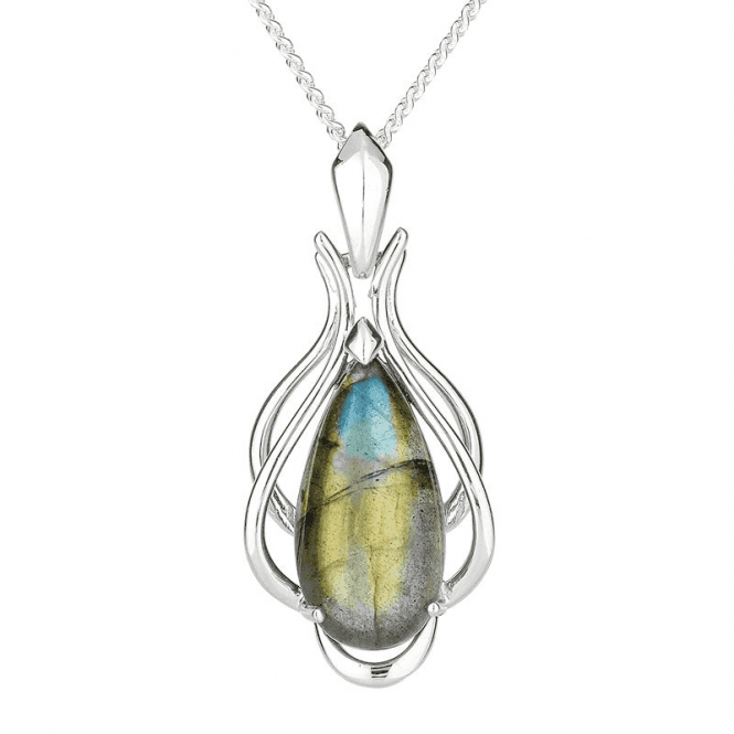 Ethereal Pendant with 10cts of Labradorite