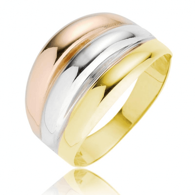 Impossible Artistry in 3 Shades of 9ct Gold