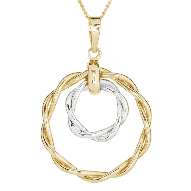 Circles within Circles & a Twist of Tonal 9ct Gold