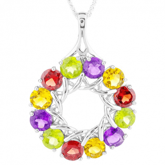 6ct Colour Wheel of Sparkling Gemstones