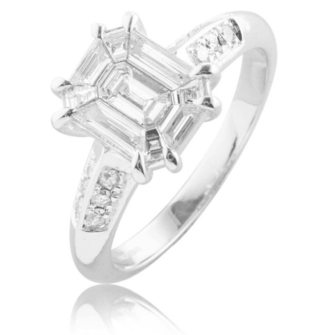 Shipton and Co Design Ingenuity in a ?Show? Diamond Ring