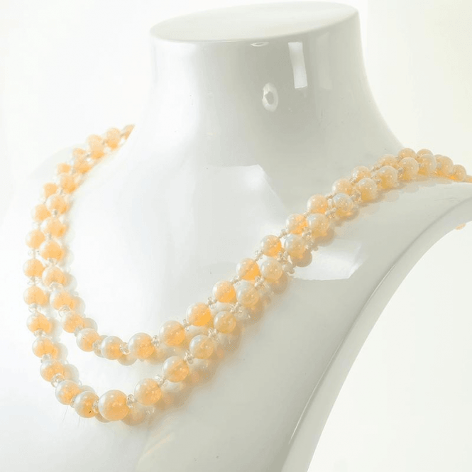 Shipton and Co 130cts of Premium Australian Opals in Smooth Round Beads