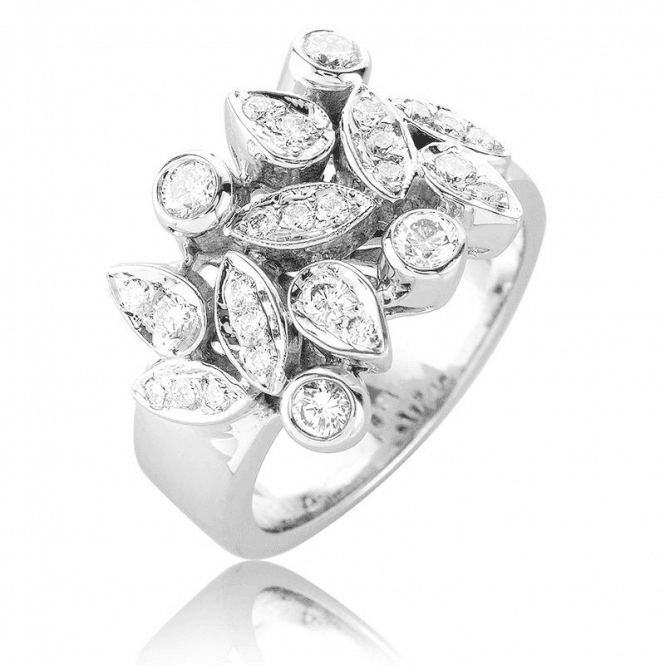 Shipton and Co Celestial Dream Ring with 24 Diamonds