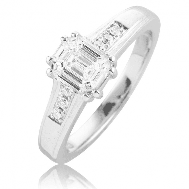 Designer Genius 1/2ct Diamond Ring