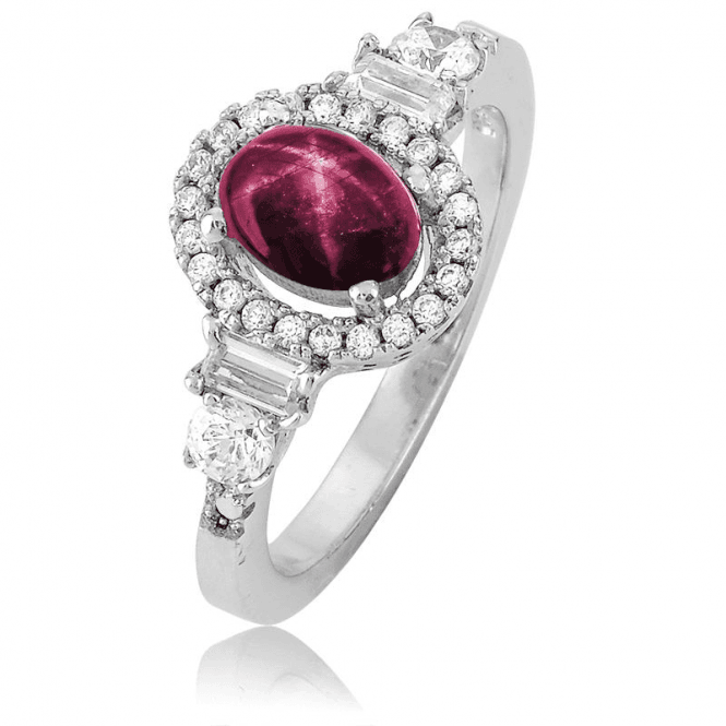 Be Wooed by the Wonder of a 1.4cts Star Ruby Ring