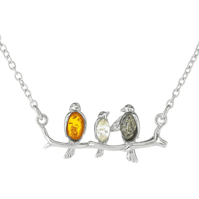 """Baby Don't Worry"" 3 Little Birds Necklet"