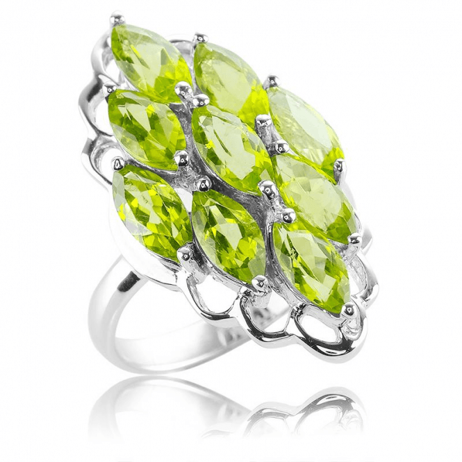 4½ct Peridot Ring ? A Natural Tonic to Wear