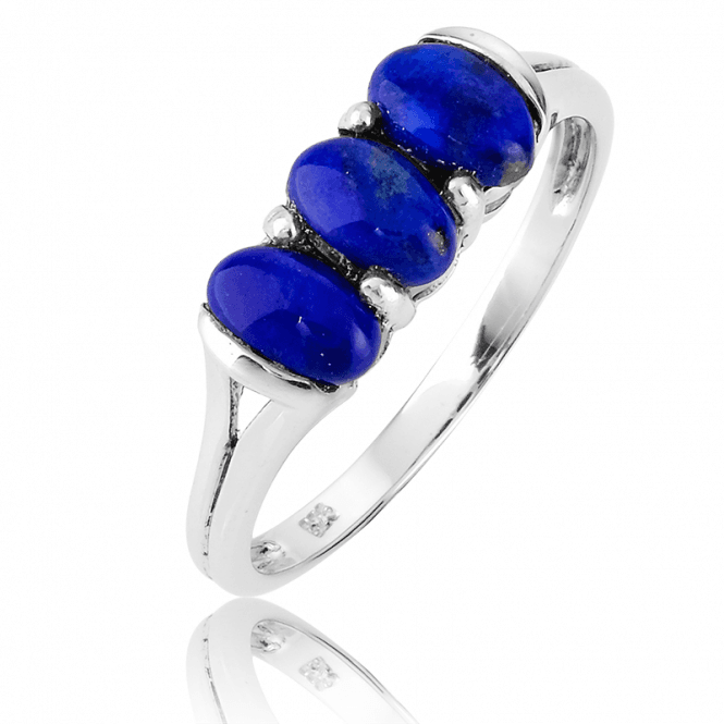 Silver Style Meets Jewelled Substance with 1ct of Lapis