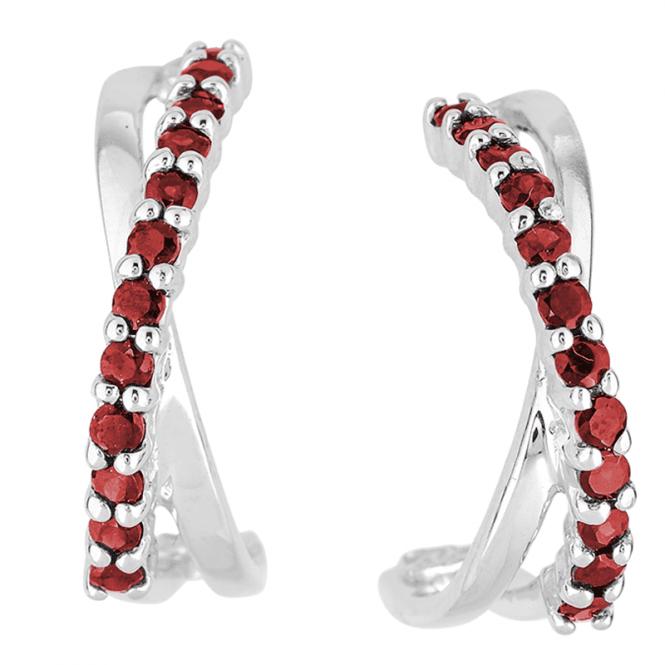1.20cts Garnet Kisses Earrings
