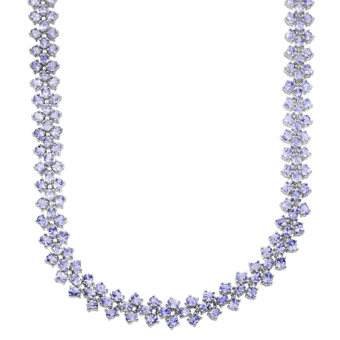 Experience 40cts of Tanzanite Flowing like Silk