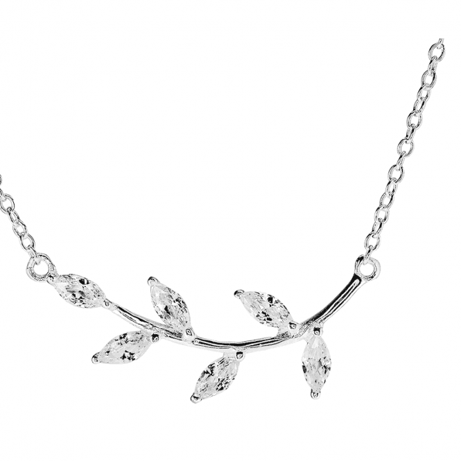 Sprig of Hope Silver Necklet