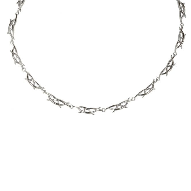 Sil Celtic Thorns Necklet
