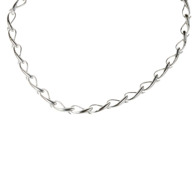 Ladies Shipton and Co Exclusive Silver Necklace NQP061NS