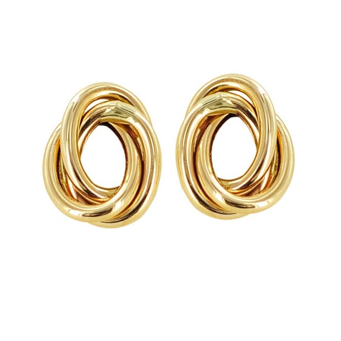 Ladies Shipton and Co Exclusive 9ct Yellow Gold Earrings TAR406NS