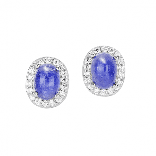 Princess Earrings with Tanzanite - Only £35