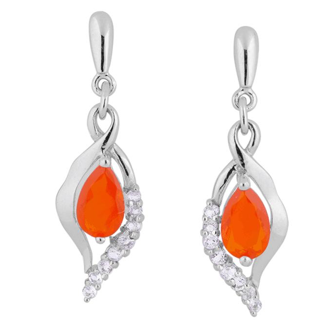 Fire Opal Earrings Express Passion & Creativity