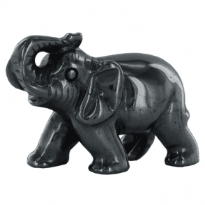 Ladies Shipton and Co Hematite Elephant Carving CMH007HM