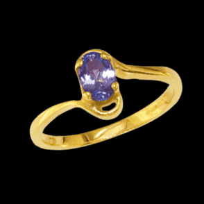Our Contemporary Tanzanite Ring