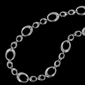 Ladies Shipton and Co Exclusive Silver Necklace NQP005NS