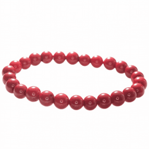 Ladies Shipton and Co Exclusive Silver and Coral Beads BSS074CL