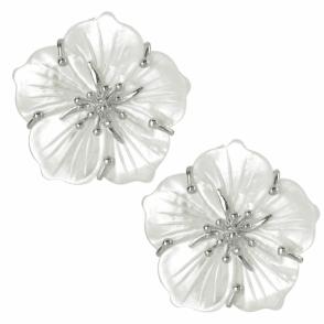 Anemone Earrings in Clip Fitting