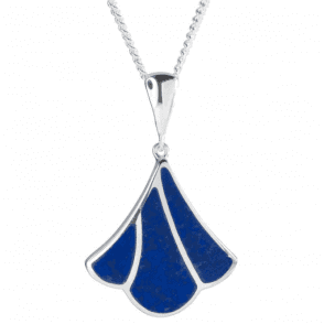 Ancient Lapis Lazuli on Contemporary Curves