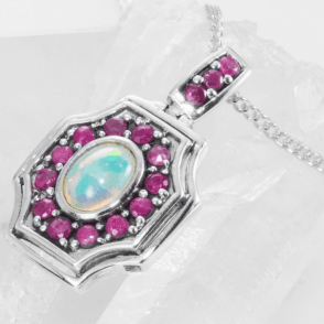 Archive Design of Opals & Rubies