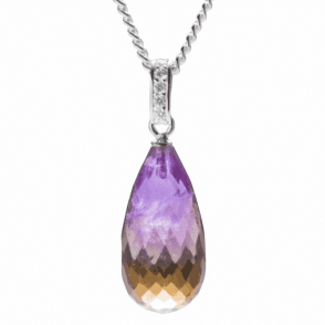 13.5ct Ametrine Hand-Picked for its Rarity & Colour