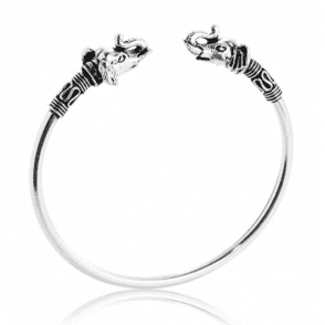 Ladies Shipton and Co  Silver and No Stones Bangle TDA074NS