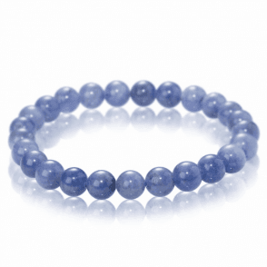 Ladies Shipton and Co Silver and 6mm Tanzanite Beads Expanding Bracelet BVL006TZ