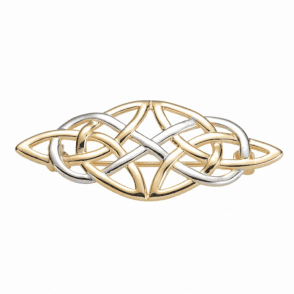 A Dream Weave of White & Yellow 9ct Gold