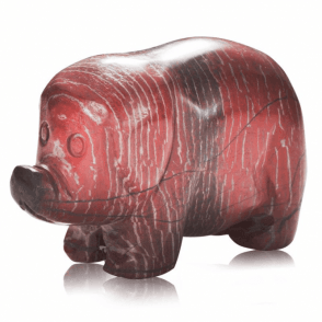Collector's Edition Rainbow Jasper Pig