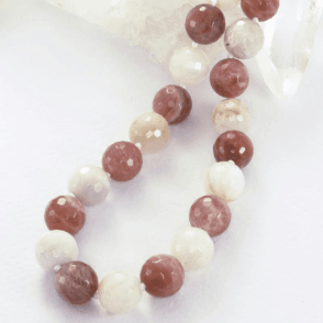 "28"" Day to Evening Extravagance of Moonstone & Sunstone"