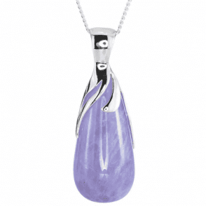 Silver Tipped Cape Amethyst Briolette for Only £50