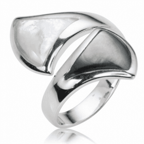 Perfect fit Mother of Pearl Ring Just £35