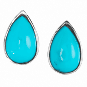 Intensity of Turquoise Lit by Sterling Silver