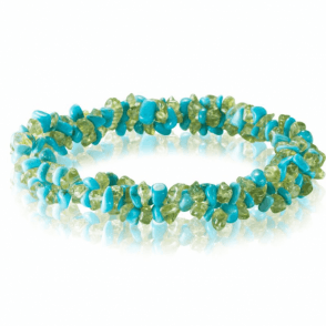 Over 85cts of Peridot & Turquoise Freshness for Only £20